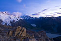 Mt Cook and Hooker Valley at dawn